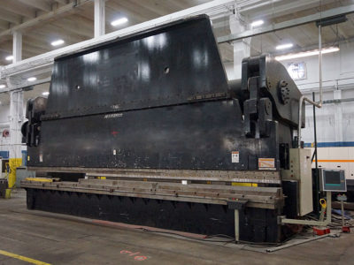 Futuramic Equipment - ACCUPRESS PRESS BREAK - 1,500 ton