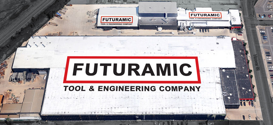 Arial Phot of Futuramics Fabrication Facilities