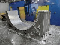 Futuramic - Dayton 1200 High Speed Gantry Machining an Invar Layup Mandrel