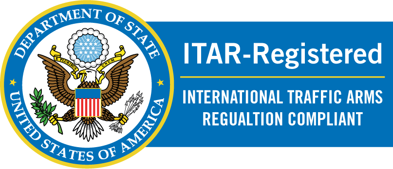 ITAR Registered badge