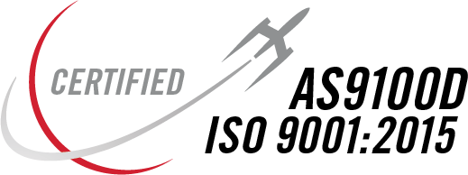 Futuramic ISO 9001-AS 9100 Perry Johnson Registrars Certification Seal