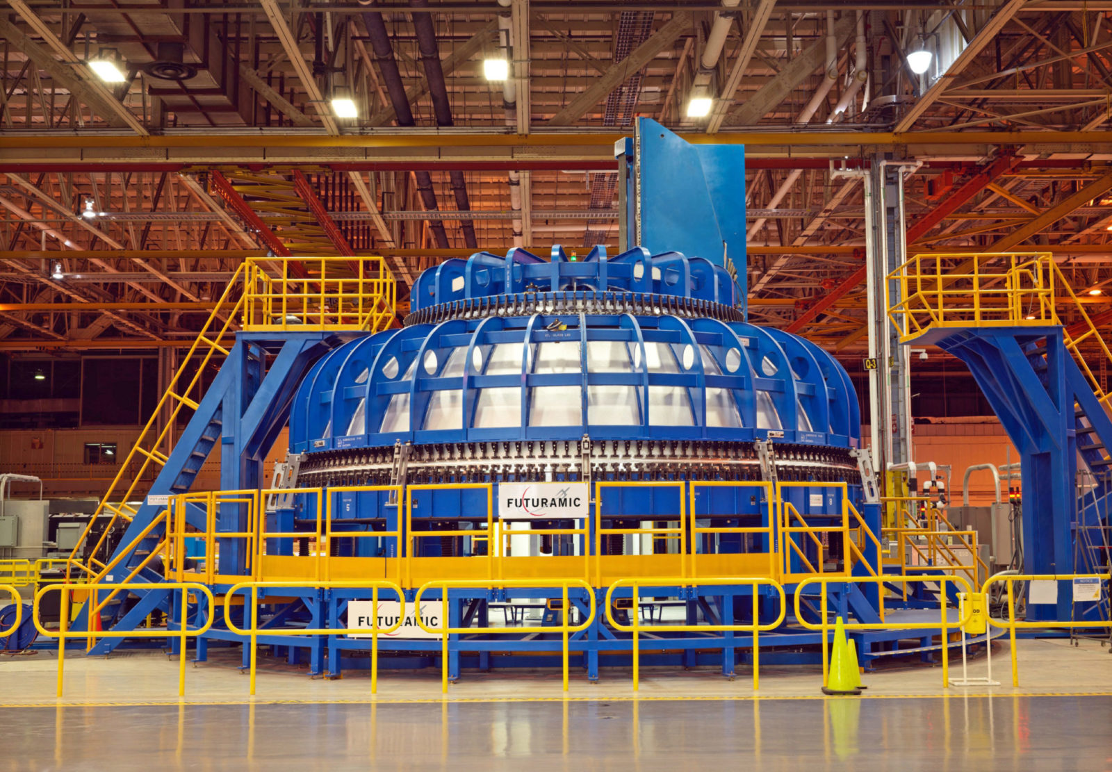 Aerospace Manufacturing -CIRCUMFERENTIAL DOME WELD TOOL, MICHOUD ASSEMBLY FACILITY Image